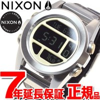 ニクソン NIXON ユニットSSレザー UNIT SS LEATHER 腕時計 メンズ ブラウンゲ...