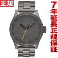 ニクソン NIXON サファリ SAFARI 腕時計 メンズ オールガンメタル NA974632-0...
