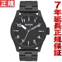 ニクソン NIXON サファリ SAFARI 腕時計 メンズ オールブラック/ホワイト NA9747...