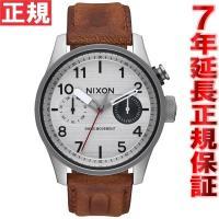 ニクソン NIXON サファリデラックスレザー SAFARI DELUXE LEATHER 腕時計 ...