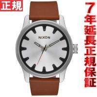 ニクソン NIXON ドライバーレザー DRIVER LEATHER 腕時計 メンズ ブラック/ブラ...