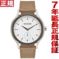 ニクソン NIXON サラレザー SALA LEATHER 腕時計 レディース ホワイト/タン NA...