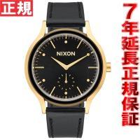 ニクソン NIXON サラレザー SALA LEATHER 腕時計 レディース ゴールド/ブラック ...