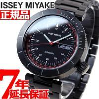 イッセイミヤケ 限定モデル 腕時計 メンズ W ダブリュ 自動巻き 和田智デザイン NYAE701 ...
