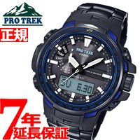 プロトレック 電波 ソーラー 電波時計 腕時計 メンズ ブルーモーメント アナデジ タフソーラー P...