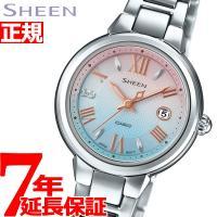 カシオ SHEEN シーン ソーラー 腕時計 レディース アナログ SHE-4516SBJ-7CJF...