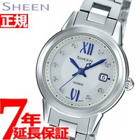 """カシオ シーン CASIO SHEEN ソーラー 腕時計 レディース SHS-4500D-7AJF""""..."""