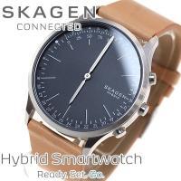 スカーゲン SKAGEN ハイブリッド スマートウォッチ ウェアラブル 腕時計 メンズ JORN C...