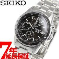 セイコー SEIKO 逆輸入 クロノグラフ セイコー 腕時計 メンズ 100m防水 SND367P1...