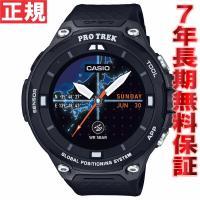 カシオ スマートアウトドアウォッチ Smart Outdoor Watch ブラック 腕時計 メンズ...