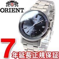 オリエント スタイリッシュ&スマート 電波 ソーラー 電波時計 腕時計 メンズ WV0101SE O...