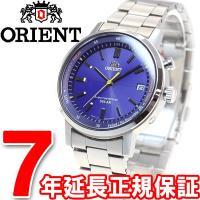 オリエント スタイリッシュ&スマート 電波 ソーラー 電波時計 腕時計 メンズ WV0111SE O...