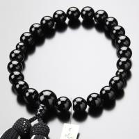 男性用 数珠。素材はオニキス。天然石 パワーストーン 数珠のことなら、当店にお任せください。