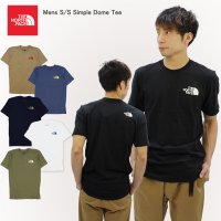 ザ・ノースフェイス THE NORTH FACE Mens S/S Simple Dome Tee メンズ 半袖 Tシャツ ゆうパケット送料無料[AA-2]