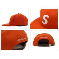 シュプリーム(SUPREME)Wool S Logo 6-Panel cap キャップ/帽子[BB]