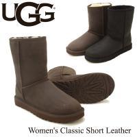 UGGの定番Classic Shortをレザーアッパーでアップデートした新作Classic Shor...