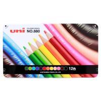 三菱鉛筆 色鉛筆 12色 K880 12CP 972489 [M便 1/2]