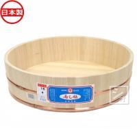 寿司桶 飯台 白杉製(吉野杉) 16号 (2升) 本体