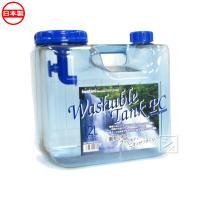 ウォッシャブルタンク ポリカ 12L 蛇口式コック付 (ポリタンク 水缶)