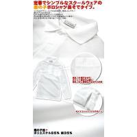 (長袖)キッズ・スクールウェア ポロシャツ 7サイズ(110/120/130/140/150/160/170)より 鹿の子(かのこ)生地/学生/小学生/子供|netshop-est|02