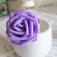 造花 バラ 7センチ 50本 (パープル)