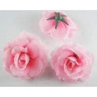 造花 バラ 花のみ 7.5センチ 50個 (ピンク)
