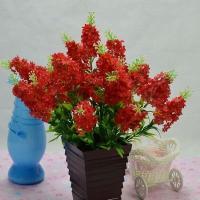 造花 ラベンダー 10本セット (レッド)