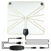 室内 HD テレビアンテナ 地デジタル - 高性能受信 地デジ アンテナ ブースター UHF VHF対応 アンテナusb テレビ 接続