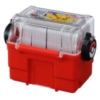 ・アミューズメントマシン「ポケモンガオーレ」で配出される「ガオーレディスク」を収納する専用ケースです...