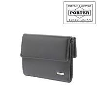 PORTER!金属プレートを使用したタグがポイントの三つ折り財布 ≪送料無料≫ 商品:PORTER ...