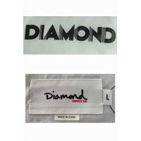 ダイヤモンドサプライ コーチジャケット ウィンドブレーカー ホワイト ネイビー 紺色 白DECO メンズ アウター●JK-285