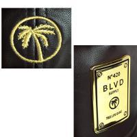 BLVD SUPPLY スナップバック ブルーバードサプライ キャップ ブラウン 茶  メンズ レディース●SBC471