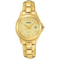 【送料無料】【ラッピング無料】SEIKO セイコー SUT236P1 ゴールド ソーラー 腕時計 レ...