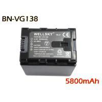 互換可能バッテリー:Victor:BN-VG138  電圧: 3.6V 容量: 5800mAh   ...