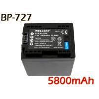 互換可能バッテリー:BP-727 / BP-718 / BP-709 電圧: 3.6V 容量: 58...