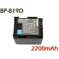 互換可能バッテリー:BP-819 / BP-819D 電圧: 7.4V 容量: 2200mAh   ...