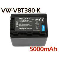 互換可能バッテリー: Panasonic : VW-VBT380-K   電圧:3.6V 容量 : ...