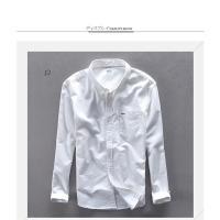 ボタンダウンシャツ メンズ 白シャツ ワイシャツ コットンシャツ 長袖シャツ ビジネス 通勤 男性 ファッション 2018 新春