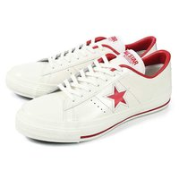 converse(コンバース) ONE STAR J(ワンスター J) ホワイト/レッド  ■商品詳...