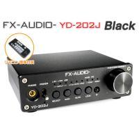 FX-AUDIO- YD-202J『ブラック』YDA138デジタルアンプIC搭載デュアルモノラル駆動...