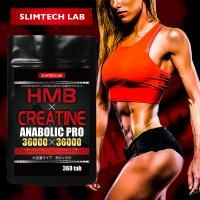 HMB×クレアチン アナボリックプロ 36000×36000 大容量タイプ6ヶ月分/360粒【DM便送料無料】