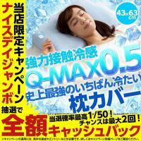 枕カバー ひんやり 史上最強のいちばん冷たい クール枕カバー  43x63cm  強力接触冷感 Q-MAX0.5 ひんやりカバー 冷却カバー 夏物 洗える 洗濯可能 選べる10色