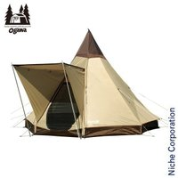 好評のピルツ9に快適機能のひさしを装備。 高くて広い開放的な空間を実現した八角錐テント。 オガワ モ...