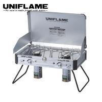ユニフレーム (uniflame) ツインバーナーUS−1900   ・ 最大火力:3900Kcal...