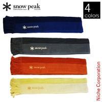 スノーピーク ウォーキングタオル [ UG-130 ] 吸汗性に優れた凡用性の広いタオルです。   ...