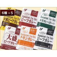 レストランユース カレーバラエティ30食コース(6種*各5入) 【常温】 ニチレイフーズ