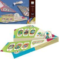 工作キット 子供 知育玩具 3歳 4歳 5歳 クリスマス プレゼント  折れ線が印刷されている折り紙...
