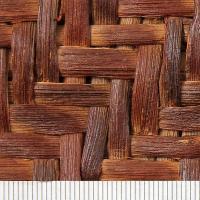 現品限り やまぶどう・皮巾5mm・表皮削ぎ・網代編み・ファッションバッグ(大) 藤春工房製作