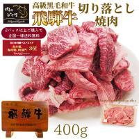 訳あり 肉 牛肉 焼肉 飛騨牛 切り落とし 400g 黒毛和牛 バーベキュー BBQ 焼き肉