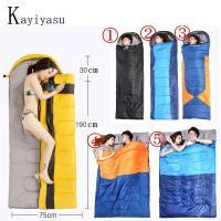 ●画像の五タイプが販売しています。  寝袋 冬用 耐寒 シュラフ 封筒型 4シーズン対応 キャンプ ...